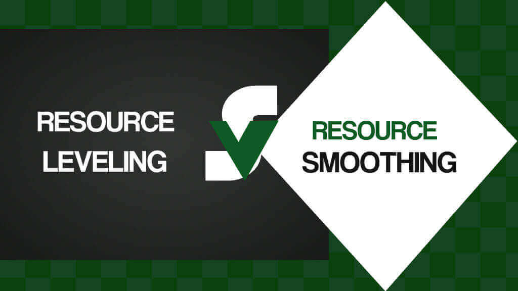 resource leveling can provide